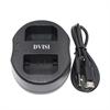 Dobbeltlader for Sony NP-FV30/50/70/100/FH50/70