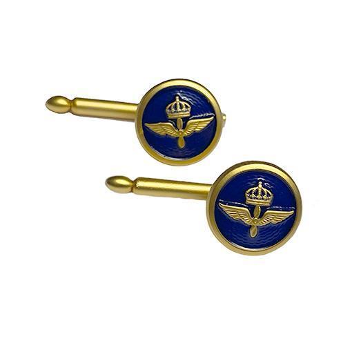 Bröstknapp m emalj, Flygvapnet