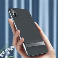 iPhone Xs Max Shockproof TPU Bumper Deksel