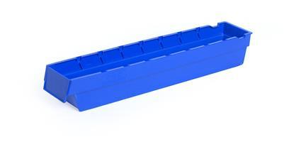 Lagerskuff 500x94x80mm blå
