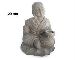 Shaolin monk - Relax grå 20cm (8 pack)