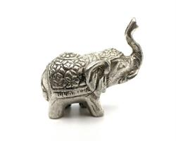Brons - Silver elefant mini (6 pack)