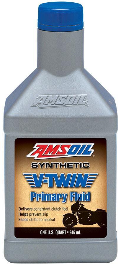 AMSOIL Syntetisk V-Twin Primærolje