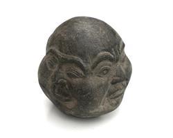 Buddha - Ansikte med fyra uttryck 10cm (6 pack)