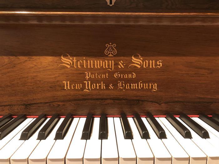 Steinway C - ferdig restaurert i studio