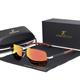 Solbrille Polarized UV400 - Silver Red