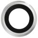 iPhone 6 Kameraglass m/Ramme - Sølv