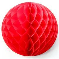20.32 cm Honeycombs Rød