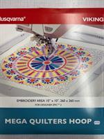 Husqvarna VIKING Mega quilters hoop 260x260