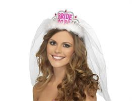 Hvit Tiara Bride To Be