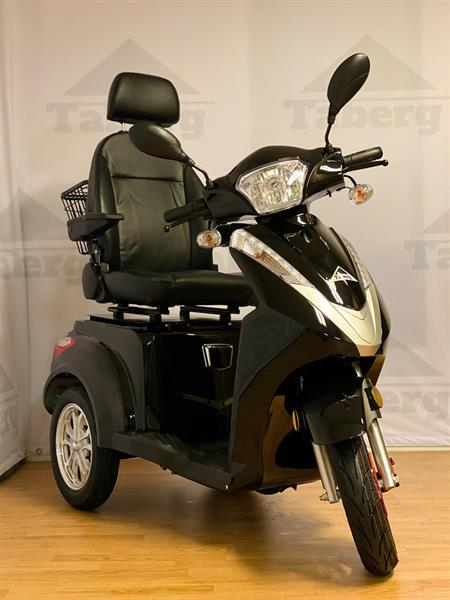 Taberg T408-2 promenadscooter svart