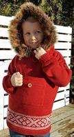 Norsk Strikkeanorakk Garnpakke Barn
