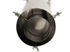 Gjennomføringsrør til piperør G-stove Ovn