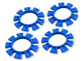 JCONCEPTS SATELLITE TIRE GLUING RUBBER BANDS, BLUE