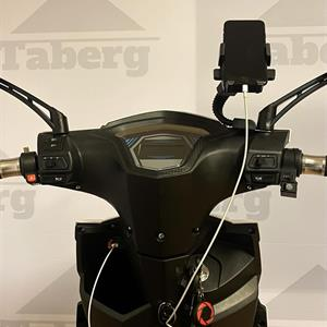 Taberg DDT085 promenadscooter vit