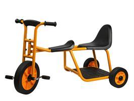 Rabo trehjulig cykel taxi m. trampor