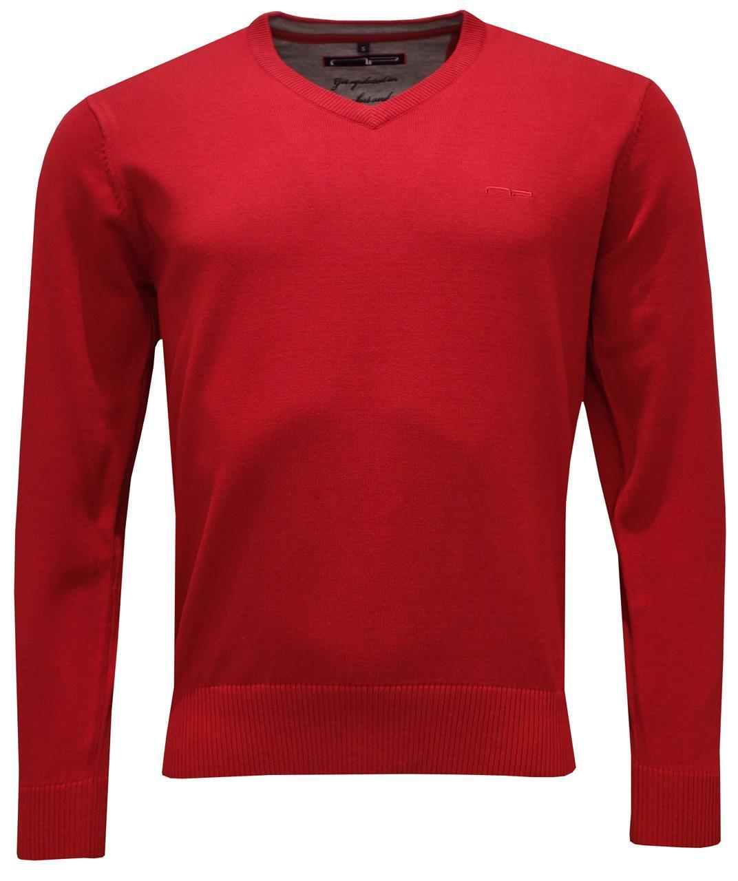 V -neck 1670 Red S