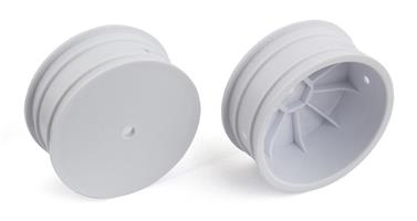 Front Wheels, 12 mm Hex 4WD buggy, white