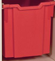 Plastback/Hög, Röd