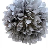 Pom Poms Gray 25 cm