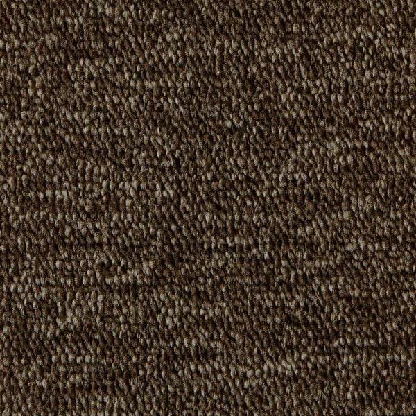 Montessorimatta öglerad 350 x 350 cm Mörkbrun