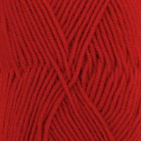 Merino Extra fine -  0011 Rød, 50 gr