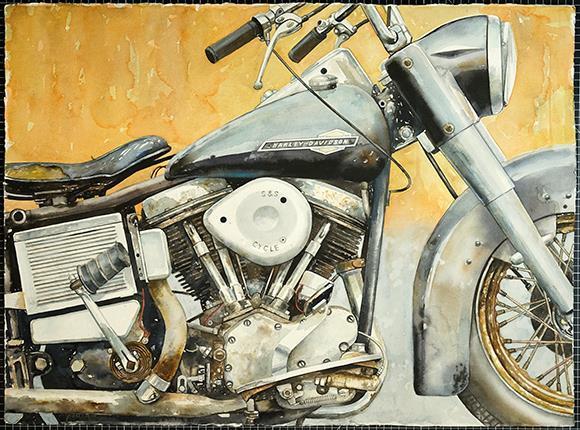 Bil och motorcykelnostalgi med John Eyre
