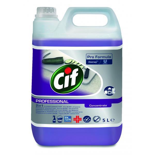 Cif Professional 2in1 desinfioiva puhdistusaine 5L