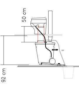 Yhdysputki 200mm (p. 500mm)