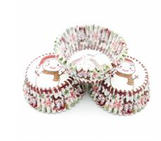 Cupcakeformer - Snøman
