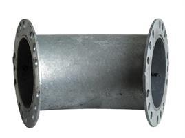 Bulkrör böj 45° radie 237,5 mm 20103005