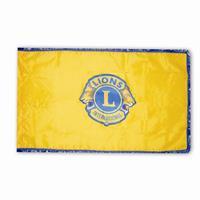 D105 - 3x5 ft Lions flagga gul