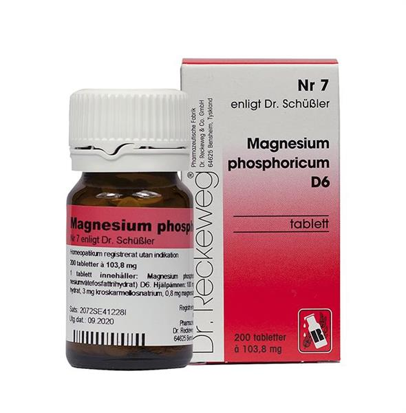 Nr.07 Magnesium phos.D6 200t