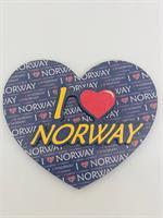 Kjøleskap magnet I Love Norway