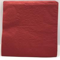 Jule serviett- Rød