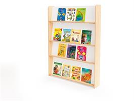 Elis bokhylla för vägg H130 cm