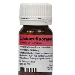 Nr.01 Calcium fluor.D6 200t