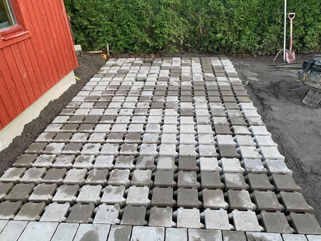 Stenläggning Täby