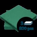 Lautasliina 1/4 3-k 40x40cm Tum.vihreä