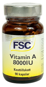 A vitamin 8000iu FSC