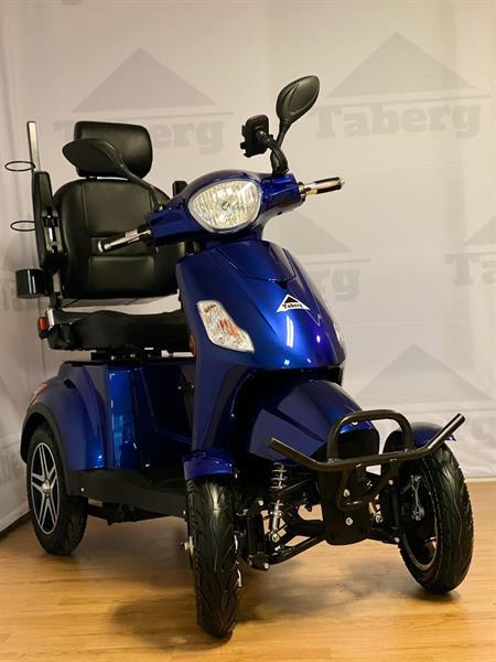 Taberg DDF081 promenadscooter blå litiumbatteri