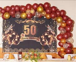 Ballong bue Bursdag 50