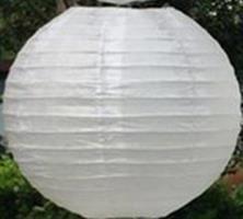 Hvit Lantern 30 cm