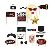 20 stk Hollywood Oscar Movie Theme Photo Booth Party Props