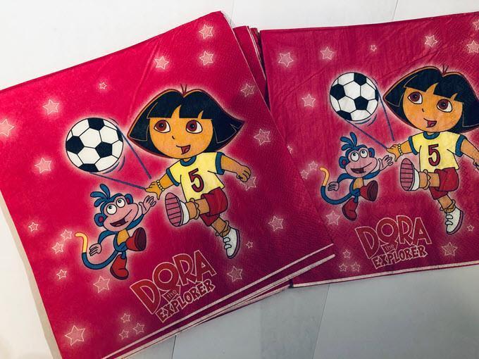 10 stk Dora the explorer Serviett