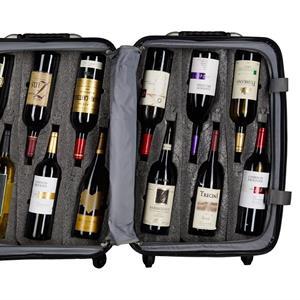 Vinkoffert stor Burgund