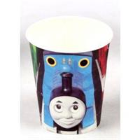 8 stk Papirkopp - Thomas the train (Thomas toget)
