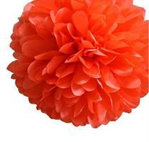 Pom Poms - Rød Oransj 20cm