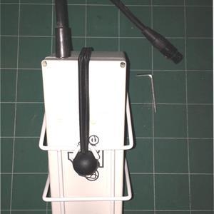 Golftralle White Batterikurv