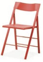 Fällstol Mini Röd/röd